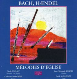 INTERPRETES DIVERS - MELODIES D´EGLISE, BACH ,HAENDEL